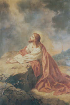 Agony of Jesus in the Garden of Gethsemane